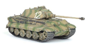 Kingtiger Porsche Turret, 1/72 By Dragon
