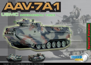 AAV7A1, USMC, Mogadishu 1993 1/72 By Dragon