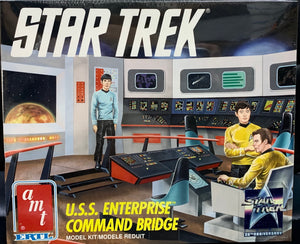 U.S.S. Enterprise Command Bridge  1/32 1991 Issue ***LAST ONE***