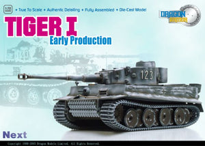 Tiger I Early Production, 1/s.Pz.Abt.503, Russia 1943 1/72 By Dragon