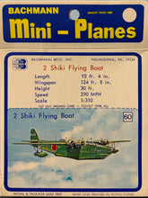 Load image into Gallery viewer, Bachmann Mini Planes #60 Kiwanis H8K2  2 Shiki Flying Boat 1/310
