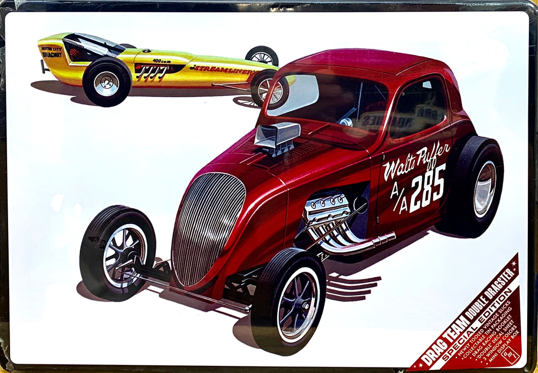 Drag Team Double Dragster Special Edition 1/25