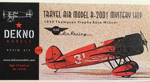 Travel Air Model R-2001 Mystery Ship  1/72