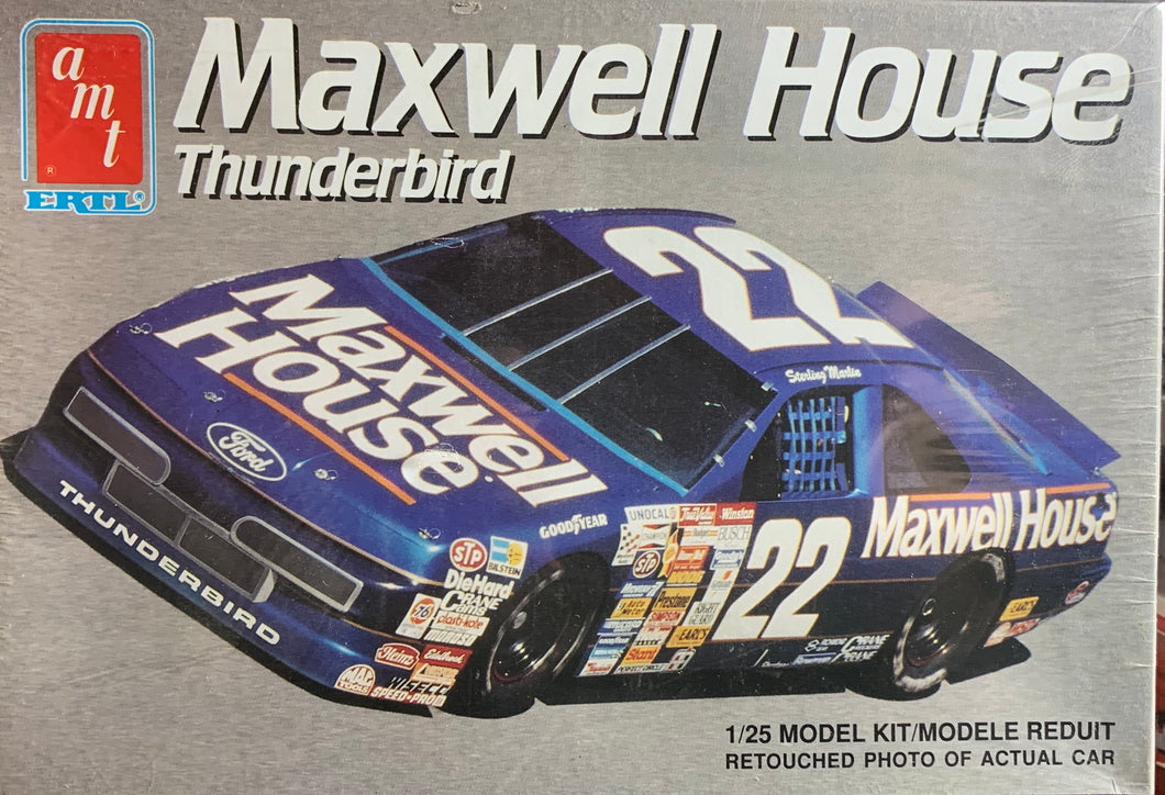 Sterling Marlin Maxwell House Thunderbird 1/25 1991 Issue