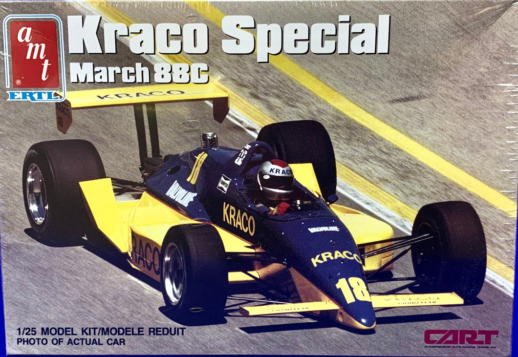 Andretti Michael  Kraco Special March 88C  1/25 1989 Issue
