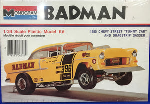 "Tom Daniel's Badman 1955 Chevy Street ""Funny Car"" and Dragstrip Gasser 1/24"