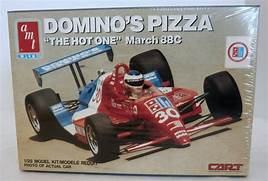 "Domino's Pizza ""The Hot One"" March 88C 1/25 1989 Issue"