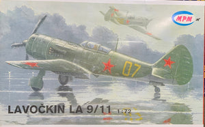Lavochkin La-9/11  1/72  1992 Issue