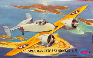Grumman XF5F-1 Skyrocket  1/72  1993 Issue