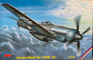 Focke-Wulf Fw 190V 18  1/72  1995 Issue