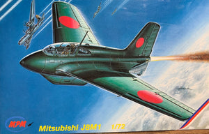 Mitsubishi J8M1 1/72  1995 Issue