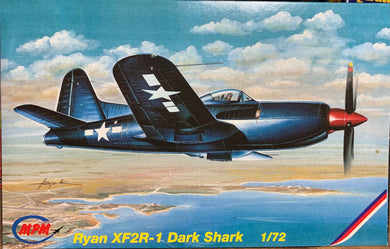 Ryan XF2R-1 Dark Shark 1/72  1995 Issue