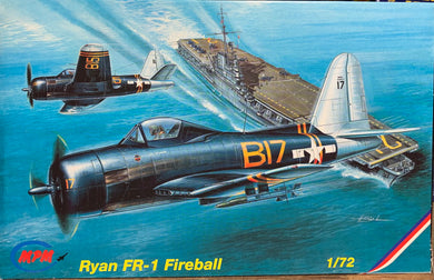 Ryan FR-1 Fireball 1/72  1997 Issue