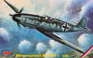 Messerschmitt Bf 109H-1  High Altitude 1/72  1996 Issue