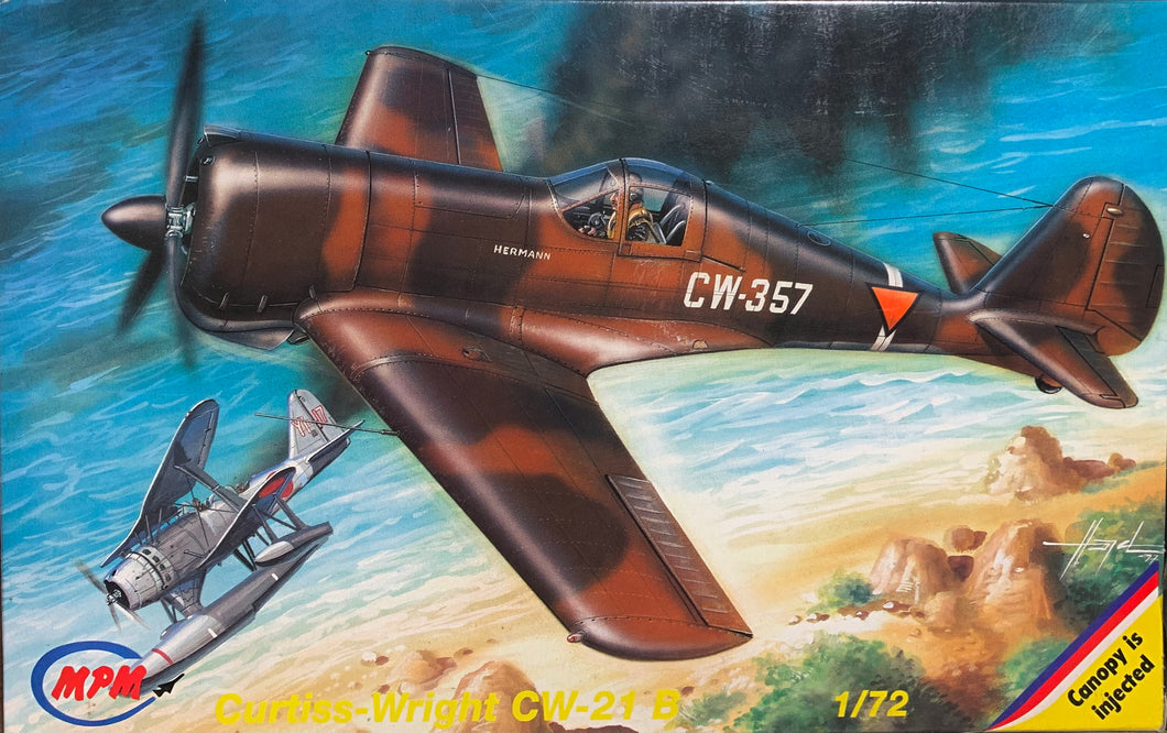 Curtiss-Wright CW-21  1/72  1997 Issue