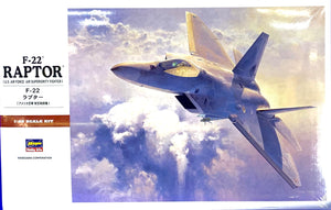 US Air Force Air Superiority Fighter F-22 Raptor  1/48 Scale
