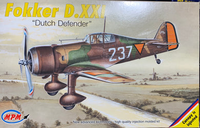 Fokker D.XXI Dutch Defender  1/72  2002 Issue
