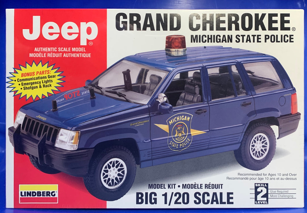 Jeep Grand Cherokee Limited Michigan State Police 1/20 1996 Issue