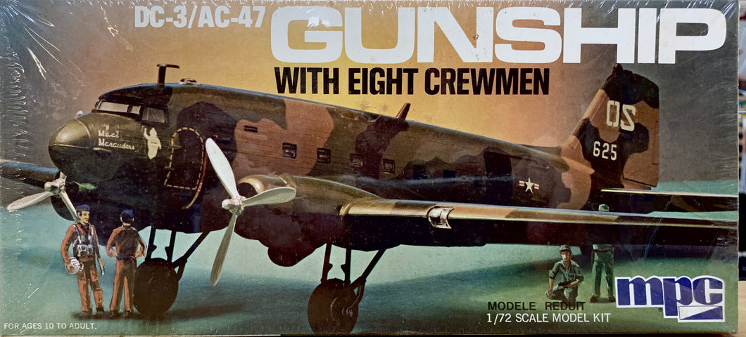 DC-3/AC-47 Gunship 1/72  1975 Issue