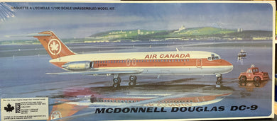 McDonnell Douglas DC-9 Air Canada 1/100 Very Rare Kit