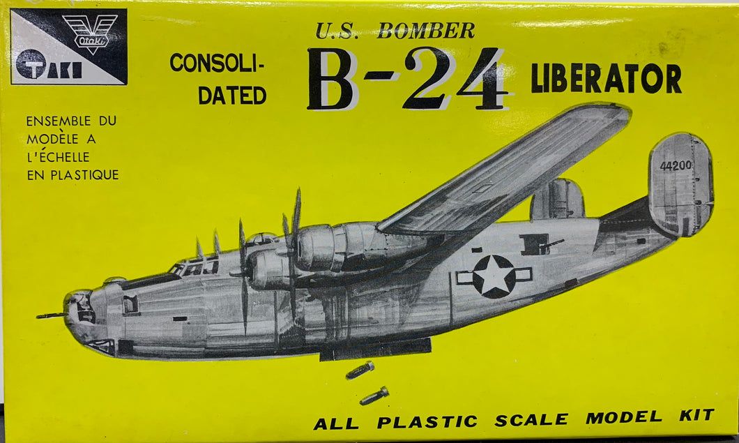 Consolidated B-24 Liberator 1/150 Rare 1967 Issue