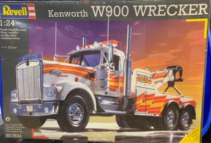 Kenworth W900 Wrecker 1/24 1996 Issue Revell Germany