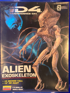 Movie Independence Day Alien Exoskeleton 1/10  1996 Issue