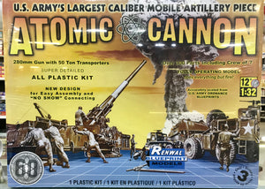 Atomic Cannon 60th Anniversary 1/32 Renwal Revell