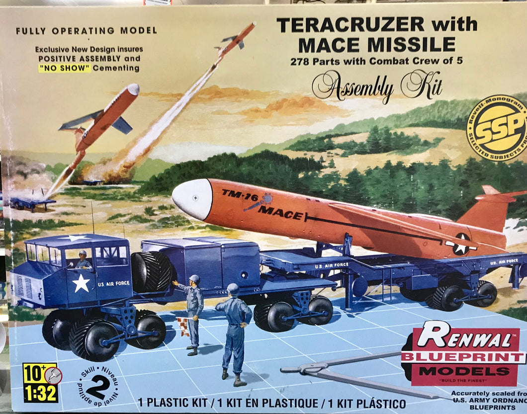 Teracruzer With Mace Missile  1/32 Scale