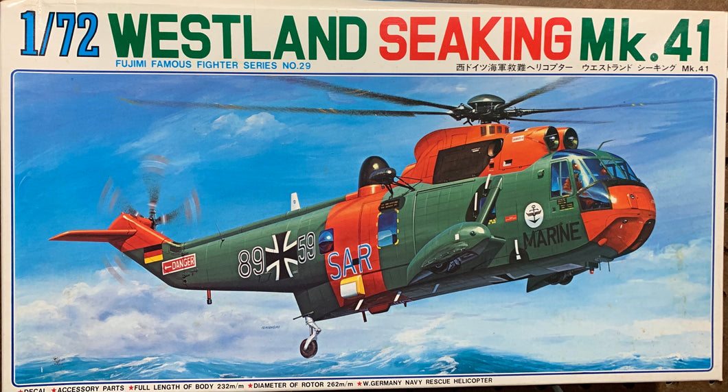 Westland Sea King Mk.41  1/72  1981 Issue
