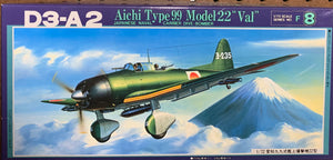 "D3A2 Aichi Type 99 Model 22 ""Val""  1/72  1985 Issue"
