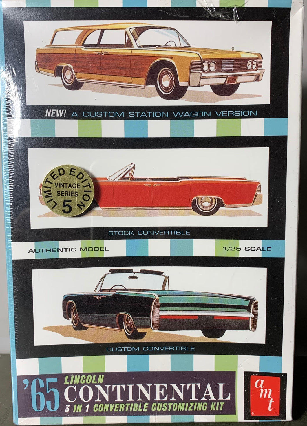 1965 Lincoln Continental 3 in 1 Convertible Customizing Kit  1/25