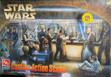 Star Wars Cantina Action Scene 1/72 1998 Issue