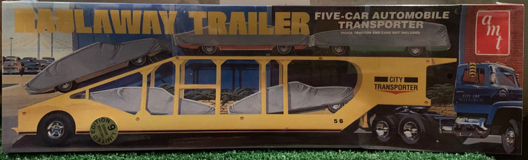 Haulaway Trailer, Five-Car Automobile Transporter 1/25 1998 Issue