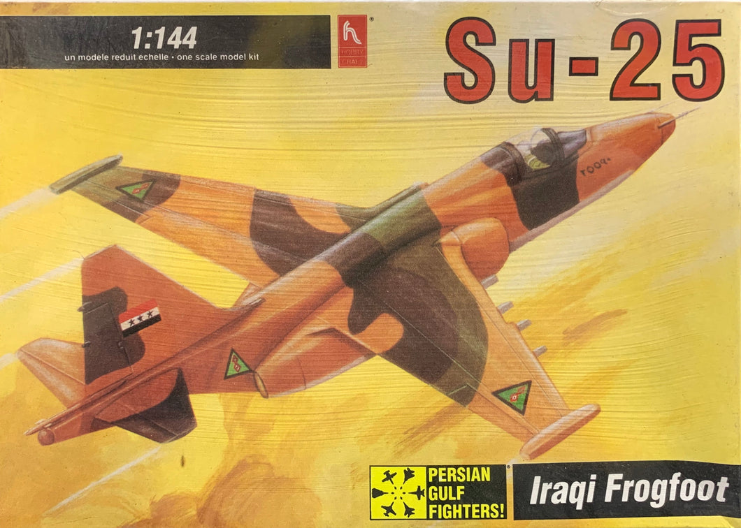 Su-25 Iraqi Frogfoot 1/144 1992 Issue **FREE SHIPPING**