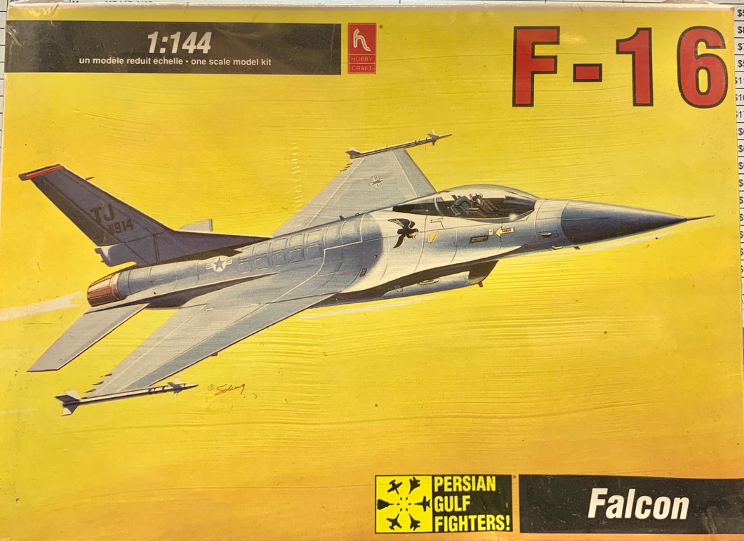 F16A Falcon USAF, Isreal, Turkey 1/144 1992 Issue **FREE SHIPPING**