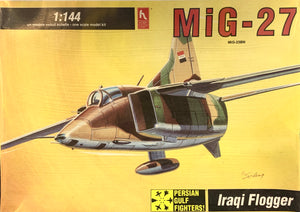 Mig 27 Flogger Iraq, Egypt 1/144 1992 Issue **FREE SHIPPING**