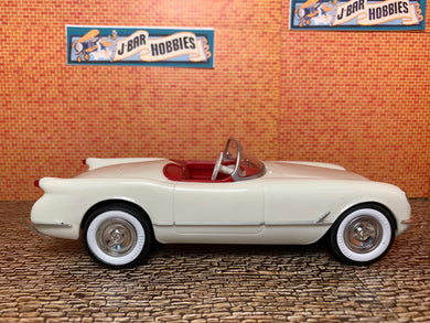 1953 Corvette Convertible in Polo White 1/25
