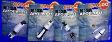 Load image into Gallery viewer, Dragon Can.Do Nasa Apollo 11 Astronauts & Columbia Eagle Saturn Rocket Set of 6
