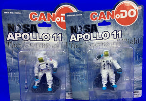 Dragon Can.Do Nasa Apollo 11 Astronauts & Columbia Eagle Saturn Rocket Set of 6
