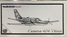Load image into Gallery viewer, Cessna 404 Titan 1/72 Resin Kit by Gremlin
