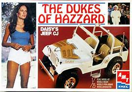 The Dukes Of Hazzard Daisy's Jeep CJ