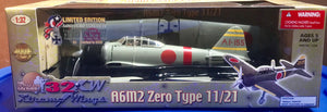 A6M2 Zero Type 11/21 Lt. Cmdr. Shigern Itaya, Pearl Harbor December 7th 1941  1/32