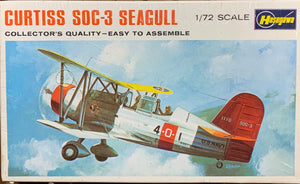 Curtiss SOC-3 Seagull  1/72 1969 Initial Release