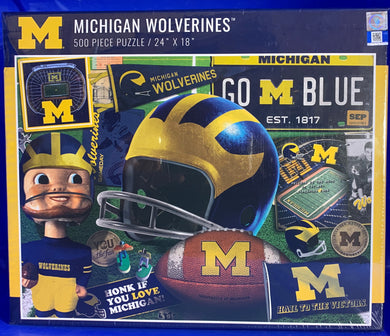 Michigan Wolverines  - 500 Piece Jigsaw Puzzle