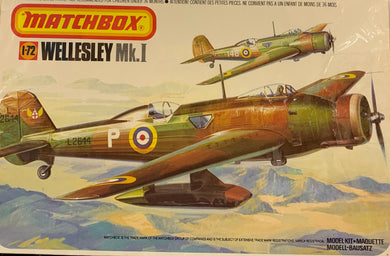 Wellesley Mk.I  1/72 1979 Issue