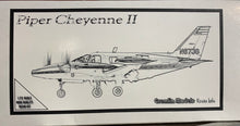 "Load image into Gallery viewer, Piper PA-31 T-620 ""Cheyenne II"" 1/72 Resin Kit by Gremlin"