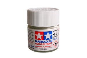Tamiya  ACRYLIC XF-2 FLAT WHITE 23Ml Bottle
