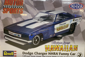 Roland Leong's Hawaiian Dodge Charger NHRA Funny Car  1/25  2010 Issue