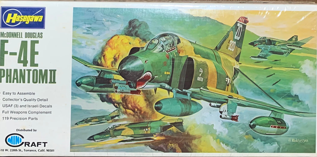 McDonnell Douglas F-4E Phantom II  1/72  1972 Issue